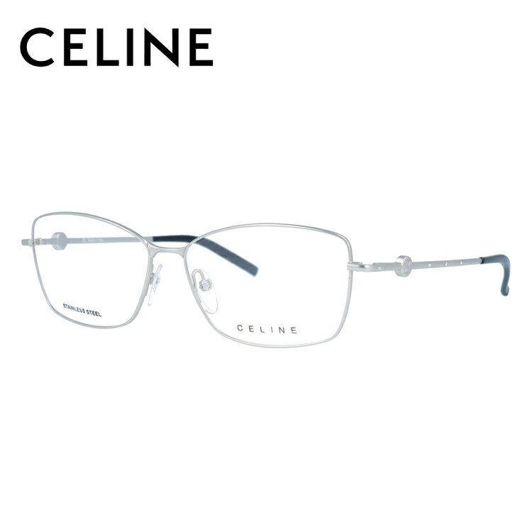 セリーヌ メガネ フレーム 0円レンズ対象 VC1243S 55サイズ 0581 レディース スクエア レディース 伊達メガネ 度付メガネ 新品 【CELINE】
