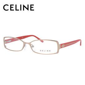 [スーパーSALE 50%OFF]【伊達・度付きレンズ無料】セリーヌ メガネ フレーム 眼鏡 VC1414M 55サイズ 8FCX 度付きメガネ 伊達メガネ ブルーライト 遠近両用 老眼鏡 レディース スクエア 【CELINE】