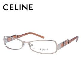 [スーパーSALE 50%OFF]【伊達・度付きレンズ無料】セリーヌ メガネ フレーム 眼鏡 VC1451M 54サイズ 08FE 度付きメガネ 伊達メガネ ブルーライト 遠近両用 老眼鏡 レディース スクエア 【CELINE】