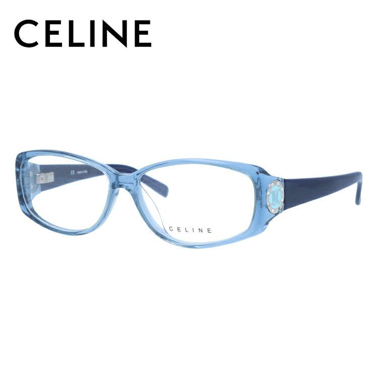 セリーヌ メガネ フレーム 0円レンズ対象 VC1603S 55サイズ 097D レディース セル/スクエア/レディース 伊達メガネ 度付メガネ 新品 【CELINE】