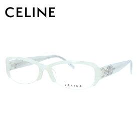 【伊達・度付きレンズ無料】 セリーヌ メガネ フレーム 眼鏡 VC1706M 52サイズ 07P5 度付きメガネ 伊達メガネ ブルーライト 遠近両用 老眼鏡 レディース ハーフリム スクエア 新品 【CELINE】