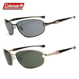 コールマン 偏光サングラス CM4020 全2カラー 59サイズ オーバル メンズ レディース ユニセックス アジアンフィット UVカット 新品 【COLEMAN】