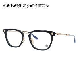 クロムハーツ メガネ フレーム 眼鏡 STRAPADICTOME BK/GP 51サイズ 度付きメガネ 伊達メガネ ブルーライト 遠近両用 老眼鏡 メンズ スクエア 【CHROME HEARTS】 【正規品】