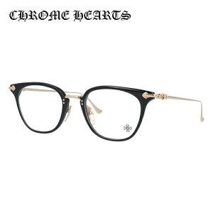 クロムハーツ メガネ フレーム 眼鏡 SHAGASS BK-GP 51サイズ 度付きメガネ 伊達メガネ ブルーライト 遠近両用 老眼鏡 メンズ レディース ユニセックス ウェリントン 【CHROME HEARTS】