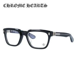 クロムハーツ メガネフレーム 伊達メガネ レギュラーフィット CHROME HEARTS DAFFADLDO BK 53サイズ スクエア ユニセックス メンズ レディース 日本製フレーム フローラル