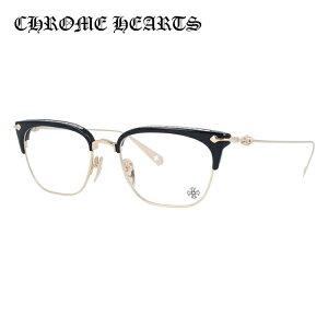 クロムハーツ メガネフレーム 伊達メガネ CHROME HEARTS SLUNTRADICTION BK/GP 54サイズ 海外正規品 ブロー ユニセックス メンズ レディース 日本製 クロス CHプラス