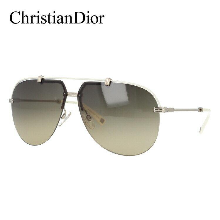 クリスチャンディオール サングラス 【Christian Dior】 DIOR CROISETTE4 DYJ/ED 62 シルバー/アイボリー レギュラーフィット(ノーズパッド調節可能) メンズ レディース 新品