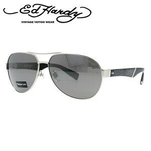 エドハーディー サングラス EdHardy クロウリングドラゴン3 CRAWLING DRAGON 3 M.SILVER (偏光) メンズ レディース UVカット メガネ ブランド ギフト