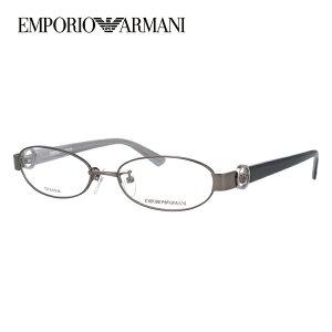 【伊達・度付きレンズ無料】エンポリオアルマーニ メガネ フレーム 眼鏡 EA1129J KJ1 52サイズ オーバル 度付きメガネ 伊達メガネ ブルーライト 遠近両用 老眼鏡 メンズ レディース ユニセック