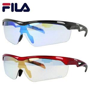 フィラ サングラス プチプラ FLS 4005 全2カラー 142サイズ メンズ レディース ユニセックス ゴルフ ランニング 野球 スポーツ アジアンフィット UVカット 【FILA】
