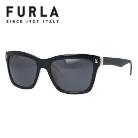 フルラ サングラス 度付き対応 SU4835 09H1 55 ブラック/ホワイト レディース 【FURLA】