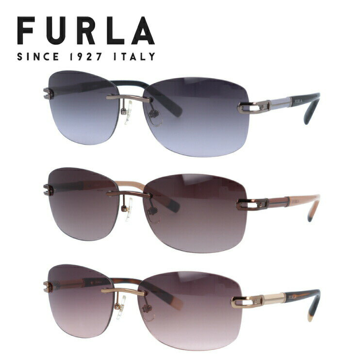 フルラ サングラス SU4312J 0568/0300/0A75/08FE 59 アジアンフィット メンズ レディース UVカット 紫外線対策 新品 【FURLA】