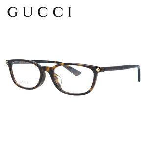 グッチ メガネ フレーム GG0123OJ 002 52サイズ アジアンフィット オーバル ユニセックス メンズ レディース ビー 蜂 インターロッキング GG 度付きメガネ 伊達メガネ 【GUCCI】