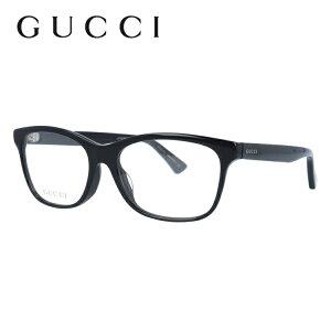 グッチ メガネ フレーム GG0162OA 001 55サイズ アジアンフィット ウェリントン ユニセックス メンズ レディース ビー 蜂 度付きメガネ 伊達メガネ 【GUCCI】