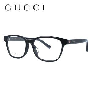 【遠近両用メガネ カラー等対応】グッチ メガネ フレーム GG0455OA 001 53サイズ アジアンフィット ウェリントン ユニセックス メンズ レディース シェリーライン ウェブライン 度付きメガネ 伊