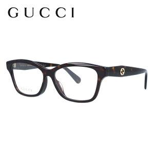 グッチ メガネ フレーム GG0801OA 002 54サイズ アジアンフィット ウェリントン ユニセックス メンズ レディース インターロッキング GG 度付きメガネ 伊達メガネ 【GUCCI】
