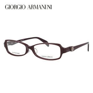 【伊達・度付きレンズ無料】ジョルジオ アルマーニ メガネ フレーム 眼鏡 アジアンフィット GA2043J RYY 53サイズ スクエア 度付きメガネ 伊達メガネ ブルーライト 遠近両用 老眼鏡 メンズ レデ