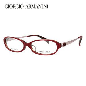 【伊達・度付きレンズ無料】ジョルジオ アルマーニ メガネ フレーム 眼鏡 アジアンフィット GA2044J 5T5 52サイズ オーバル 度付きメガネ 伊達メガネ ブルーライト 遠近両用 老眼鏡 メンズ レデ