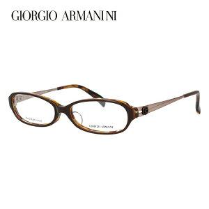 【伊達・度付きレンズ無料】ジョルジオ アルマーニ メガネ フレーム 眼鏡 アジアンフィット GA2044J R3S 52サイズ オーバル 度付きメガネ 伊達メガネ ブルーライト 遠近両用 老眼鏡 メンズ レデ