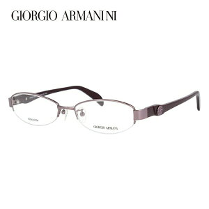 【伊達・度付きレンズ無料】ジョルジオ アルマーニ メガネ フレーム 眼鏡 GA2671J 41N 52サイズ オーバル 度付きメガネ 伊達メガネ ブルーライト 遠近両用 老眼鏡 メンズ レディース ユニセック