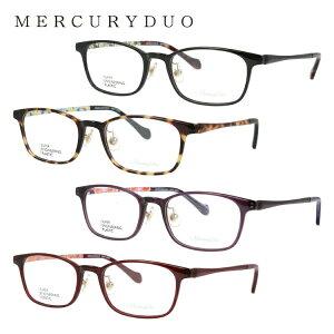 【伊達・度付きレンズ無料】マーキュリーデュオ メガネ フレーム 眼鏡 MDF2007 全4カラー 51サイズ 度付きメガネ 伊達メガネ ブルーライト 遠近両用 老眼鏡 メンズ レディース ユニセックス ス