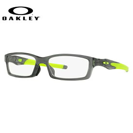 【送料無料】 オークリー メガネ フレーム 眼鏡 クロスリンク アジアンフィット OX8118-0256 56サイズ 度付きメガネ 伊達メガネ ブルーライト 遠近両用 老眼鏡 スクエア メンズ レディース ユニセックス 新品 【OAKLEY/CROSSLINK】