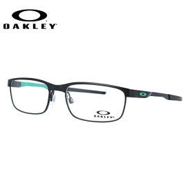 オークリー メガネ フレーム スチールプレート OX3222-0654 54サイズ メンズ レディース ユニセックス スクエア 度付きメガネ 伊達メガネ 新品 【OAKLEY/STEEL PLATE】