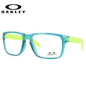 【送料無料】 オークリー メガネ フレーム 眼鏡 ホルブルックRX OX8156-0456 56サイズ 度付きメガネ 伊達メガネ ブルーライト 遠近両用 老眼鏡 レギュラーフィット スクエア メンズ レディース ユニセックス 新品 【OAKLEY/HOLBROOK RX】【海外正規品】