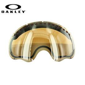 オークリー スノーゴーグル 交換レンズ OAKLEY A FRAME Aフレーム 02-231 Black Iridium ブラック/ミラー 球面レンズ ダブルレンズ 曇り止め ウィンタースポーツ スノーボード SNOWBOAD スキー SKI 紫外線 UVカット