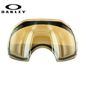オークリー スノーゴーグル 交換レンズ OAKLEY AIRBRAKE エアブレイク 01-357 Black Iridium ブラック/ミラー 球面レンズ ダブルレンズ 曇り止め ウィンタースポーツ スノーボード SNOWBOAD スキー SKI 紫外線 UVカット