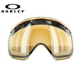 オークリー スノーゴーグル 交換レンズ OAKLEY CROWBAR クローバー 02-112 Black Iridium ブラック/ミラー 球面レンズ ダブルレンズ 曇り止め ウィンタースポーツ スノーボード SNOWBOAD スキー SKI 紫外線 UVカット