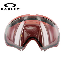 【訳あり】オークリー スノーゴーグル 交換レンズ OAKLEY A FRAME 2.0 Aフレーム2.0 59-761 Prizm Black Iridium プリズム ブラック/ミラー 球面レンズ ダブルレンズ 曇り止め ウィンタースポーツ スノーボード SNOWBOAD スキー SKI 紫外線 UVカット