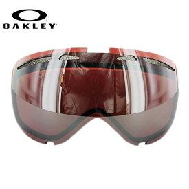 オークリー スノーゴーグル 交換レンズ OAKLEY ELEVATE エレベート 59-804 Prizm Black Iridium プリズム ブラック/ミラー 球面レンズ ダブルレンズ 曇り止め ウィンタースポーツ スノーボード SNOWBOAD スキー SKI 紫外線 UVカット
