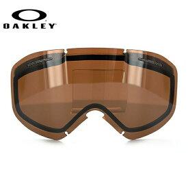 オークリー スノーゴーグル 交換レンズ OAKLEY O FRAME 2.0 XM Oフレーム2.0XM 101-120-005 Black Iridium ブラック/ミラー 球面レンズ ダブルレンズ 曇り止め ウィンタースポーツ スノーボード SNOWBOAD スキー SKI 紫外線 UVカット