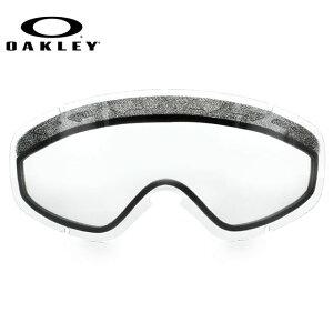 オークリー スノーゴーグル 交換レンズ OAKLEY O FRAME 2.0 XS Oフレーム2.0XS 59-258 Clear クリア 球面レンズ ダブルレンズ 曇り止め ウィンタースポーツ スノーボード SNOWBOAD スキー SKI 紫外線 UVカッ