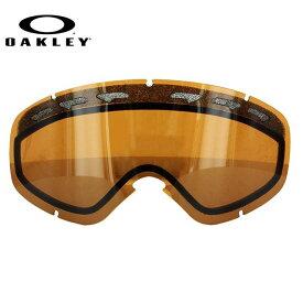 オークリー スノーゴーグル 交換レンズ OAKLEY O FRAME 2.0 XS Oフレーム2.0XS 59-261 Black Iridium ブラック/ミラー 球面レンズ ダブルレンズ 曇り止め ウィンタースポーツ スノーボード SNOWBOAD スキー SKI 紫外線 UVカット