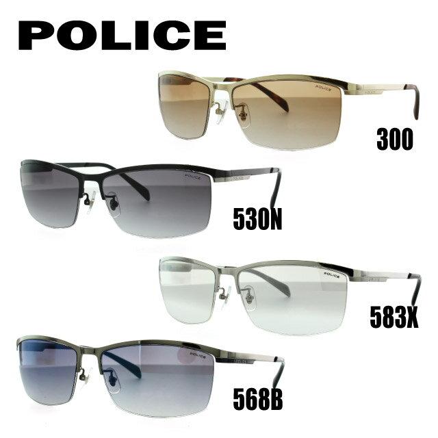 ポリス サングラス 度付き対応 SPL273J 300/530N/583X/568B 60サイズ メンズ アジアンフィット 新品 【POLICE】