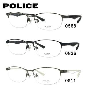 【伊達・度付きレンズ無料】ポリス メガネ フレーム 眼鏡 ブラックバード VPL753J 全3カラー 54サイズ 度付きメガネ 伊達メガネ ブルーライト 遠近両用 老眼鏡 メンズ レディース ユニセックス