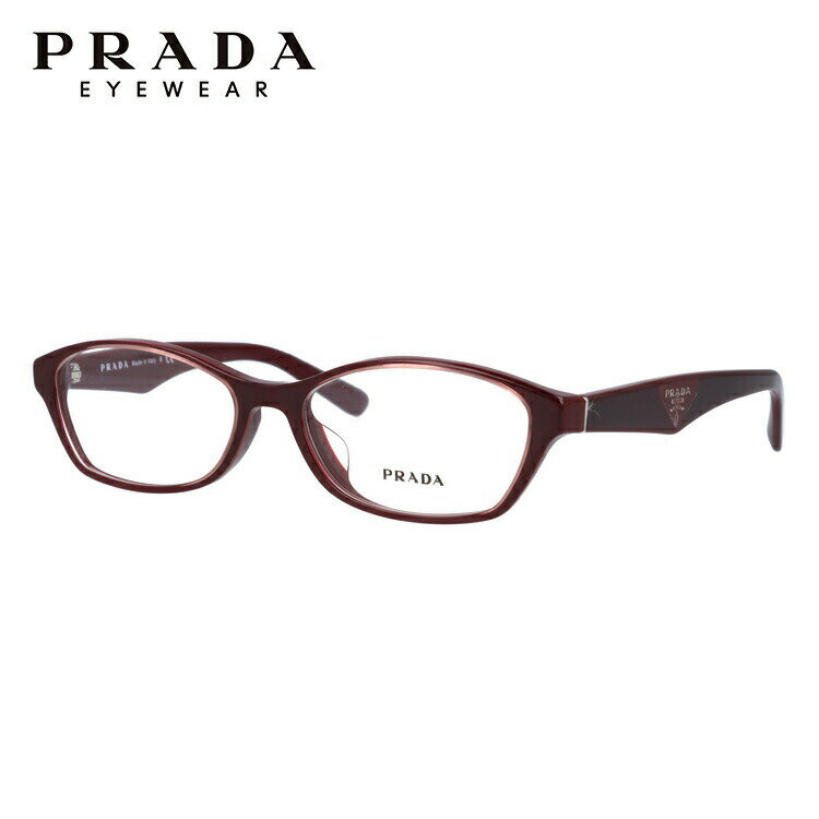 プラダ メガネ フレーム PR02SV UAN1O1 54サイズ アジアンフィット メンズ レディース ユニセックス オーバル 国内正規品 新品【PRADA】