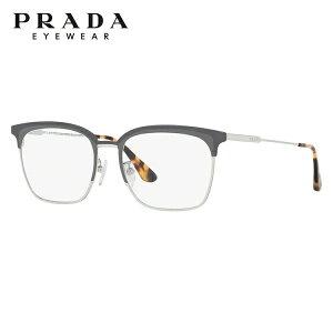 プラダ メガネ フレーム 眼鏡 PR61VVD 3291O1 53サイズ 度付きメガネ 伊達メガネ ブルーライト 遠近両用 老眼鏡 メンズ レディース ユニセックス アジアンフィット ブロー【PRADA】 【正規品】