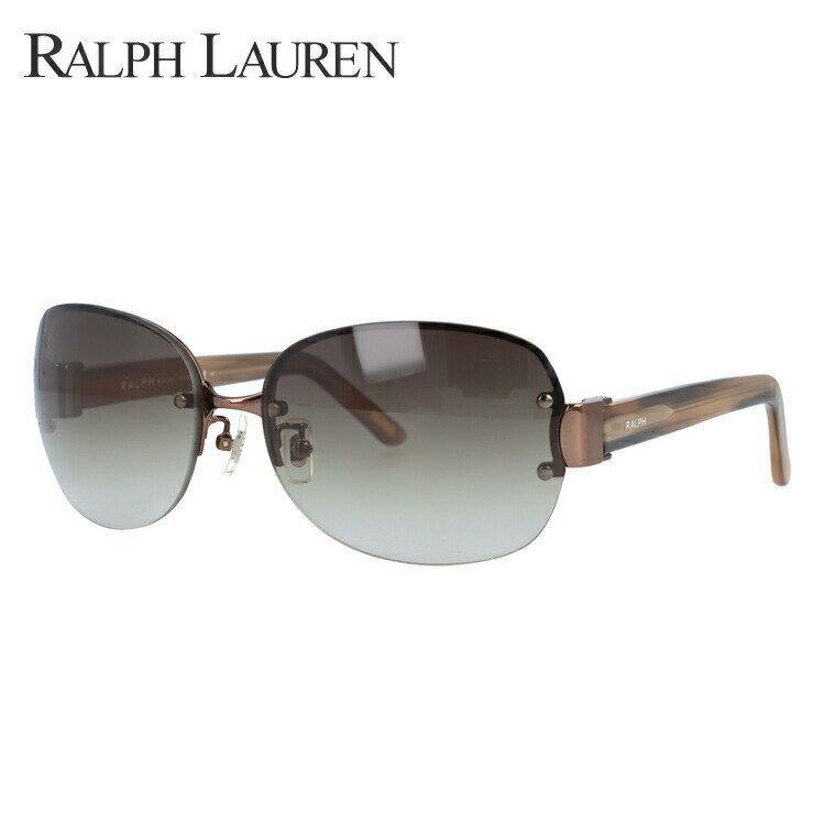 ラルフローレン サングラス RA4087 374/13 61 ベージュ/ブラウングラデーション メンズ レディース UVカット 紫外線対策 新品 【Ralph Lauren】