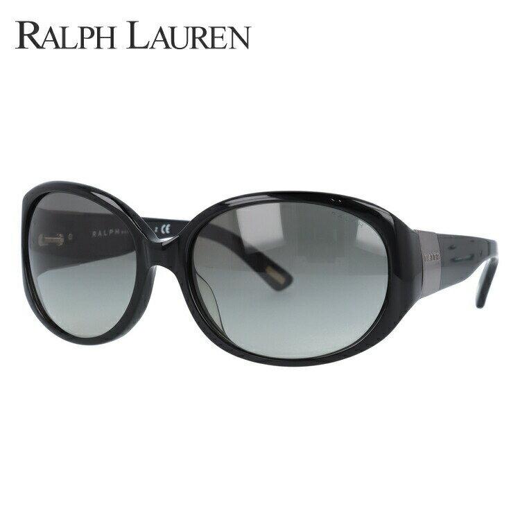 ラルフローレン サングラス 度付き対応 RA5156 501/11 59 ブラック/スモークグラデーション レディース UVカット 紫外線対策 新品 【Ralph Lauren】