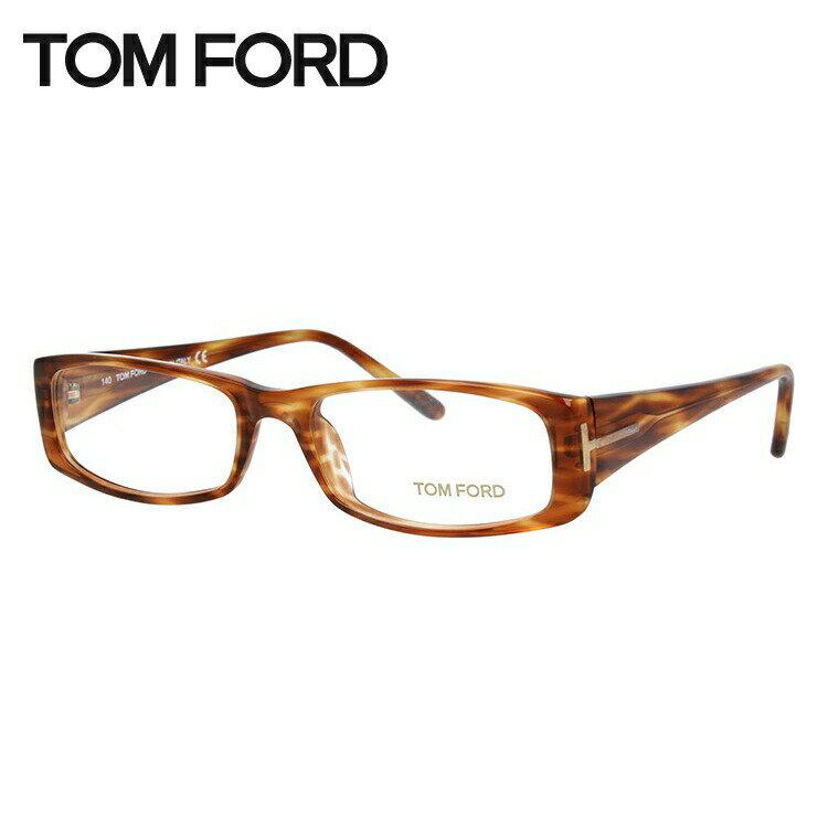トムフォード メガネ フレーム 0円レンズ対象 TF5060 R91 53サイズ Brown Light Havana ブラウンライトハバナ セル/スクエア/メンズ 伊達メガネ 度付メガネ ダテ 新品【TOMFORD】