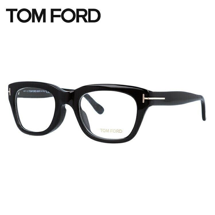 トムフォード メガネ フレーム 0円レンズ対象 TF5178F 001 51サイズ(FT5178F) メンズ レディース ユニセックス 伊達メガネ 度付きメガネ ウェリントン アジアンフィット 新品【TOM FORD】