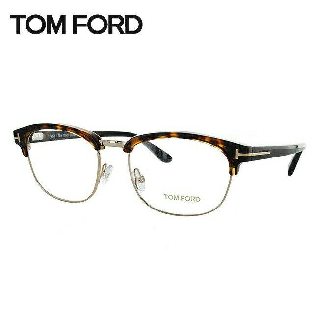 トムフォード メガネ フレーム 0円レンズ対象 TF5458 052 53サイズ(FT5458) メンズ レディース ユニセックス 伊達メガネ 度付きメガネ ブロー レギュラーフィット 新品【TOM FORD】