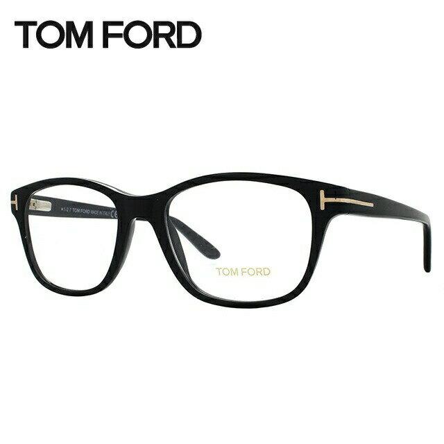 トムフォード メガネ フレーム 0円レンズ対象 TF5196 001 53サイズ (FT5196) メンズ レディース ユニセックス 伊達メガネ 度付きメガネ レギュラーフィット ウェリントン 新品【TOM FORD】