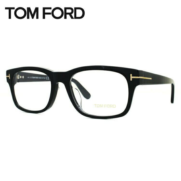 トムフォード メガネフレーム アジアンフィット TOM FORD TF5432F (FT5432F) 001 54サイズ ウェリントン ユニセックス メンズ レディース