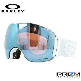 オークリー スノーゴーグル OAKLEY OO7071-10 AIRBRAKE XL エアブレイクXL レギュラーフィット プリズム ミラー 球面ダブルレンズ メンズ レディース 曇り止め ウィンタースポーツ スノーボード SNOWBOAD スキー SKI 紫外線 UVカット