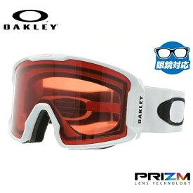 オークリー スノーゴーグル OAKLEY OO7070-16 LINE MINER ラインマイナー レギュラーフィット プリズム 平面ダブルレンズ 眼鏡対応 メンズ レディース 曇り止め ウィンタースポーツ スノーボード SNOWBOAD スキー SKI 紫外線 UVカット