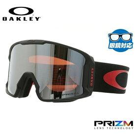 オークリー スノーゴーグル OAKLEY OO7070-41 LINE MINER ラインマイナー レギュラーフィット プリズム ミラー 平面ダブルレンズ 眼鏡対応 メンズ レディース 曇り止め ウィンタースポーツ スノーボード SNOWBOAD スキー SKI 紫外線 UVカット